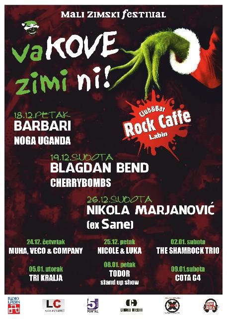 Mali zimski festival `Va Kove Zimi Ni` @ Rock Caffe Labin