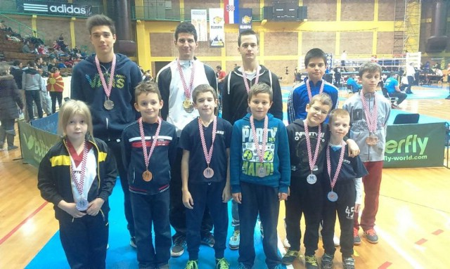 Labinjani osvojili 13 medalja na Otvorenom prvenstvu Hrvatske u kickboxingu  `Croatia open 2015`