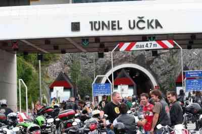 Bikeri blokirali tunel Učka, istarska policija piše prekrajne prijave!