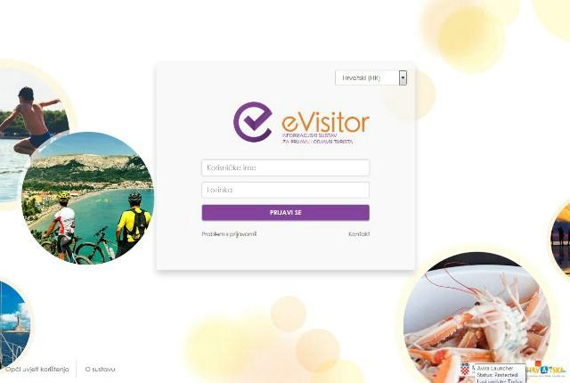 Obavijest oko primjene sustava prijave i odjave eVisitor za građane iznajmljivače s područja TZ Grada Labina