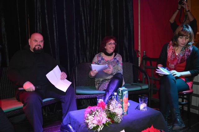 Održana promocija knjige `Fine nijanse` i animiranog spota `Pitanje časti` u labinskom Rock caffeu