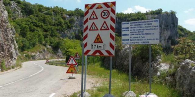 Sočerga se zatvara 45 dana zbog obnove ceste - 11.1. - 24.2. 2016.