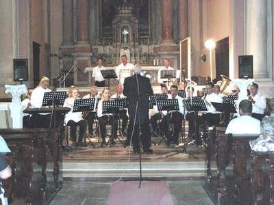 Labinski gradski orkestar nastupio u župnoj crkvi