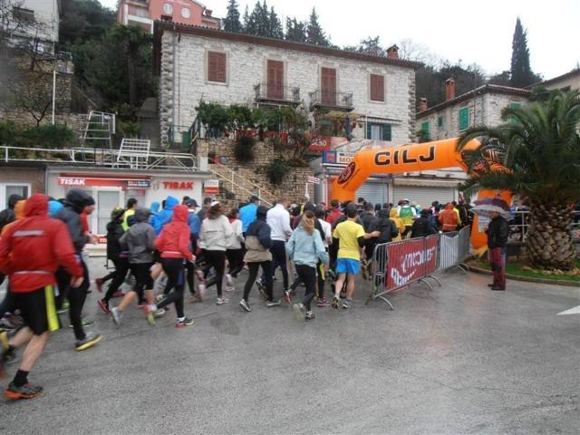 U Rapcu ove nedjelje  6.kolo Istarske zimske lige u trčanju