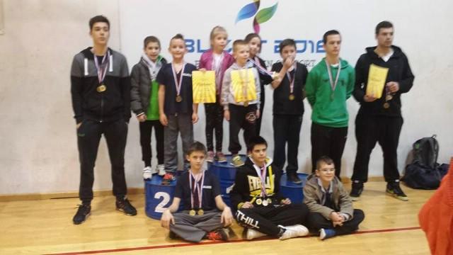 Filip Grbić i Alan Tursunović dvostruko zlatni na županijskom kickboxing prvenstvu