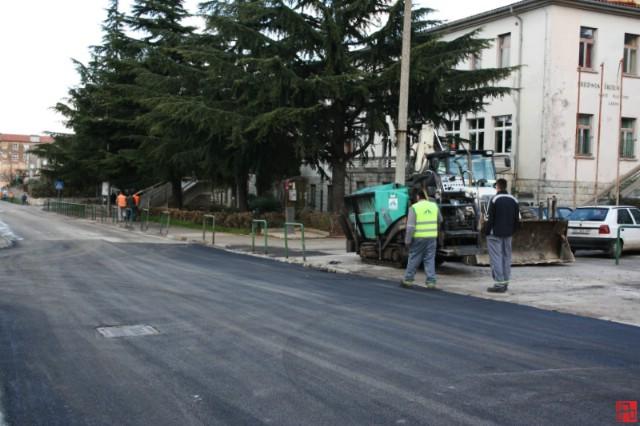 Saniranje udarnih rupa u Rudarskoj ulici