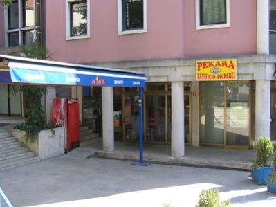 Zatvorena pekara u starom gradu