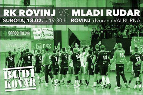U nastavku drugog dijela sezone u 2. HRL Zapad Kovari gostuju u Rovinju / Mladi rukometaši na utakmici PPD Zagreb - PSG