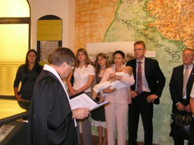 U Labinu krštenje po luteranskom obredu u Memorijalnoj zbirci Matije Vlačića Ilirika