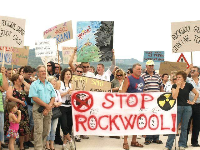 Prosvjed protiv Rockwoola - građanima voda do grla (Galerija fotografija)