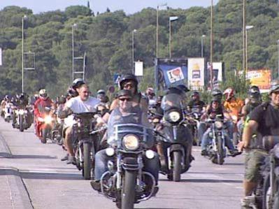 Labinjanu ukraden motor na susretu bikera na Vallelungi
