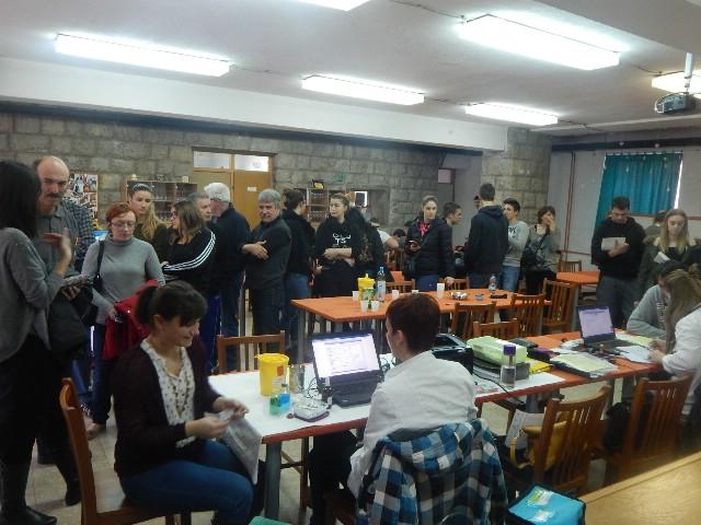 Na akciji dobrovoljnog darivanja krvi u Labinu i Koromačnu prikupljena 71 doza krvi - čak 9 novih darivatelja