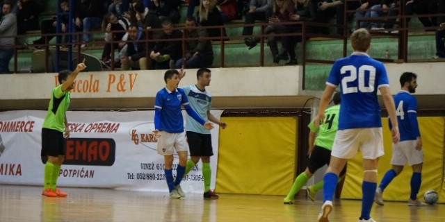 1.HMNL | Potpićan 98 AD Tokić – Futsal Dinamo 1:7 (1:3)