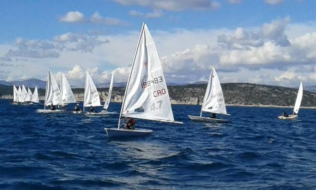 Rabački jedriličari na velikoj nagradi Mornara u Splitu