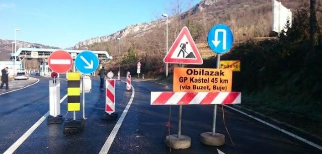 Granični prijelaz Požane neće se otvoriti 24. veljače