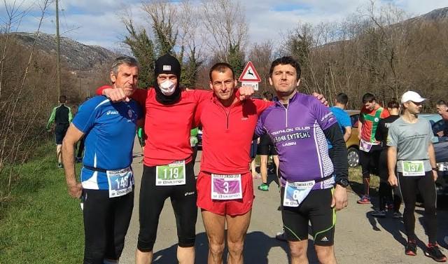 Triatloncima Albone Extreme najviše nagrada na Riječkoj zimskoj ligi u trčanju