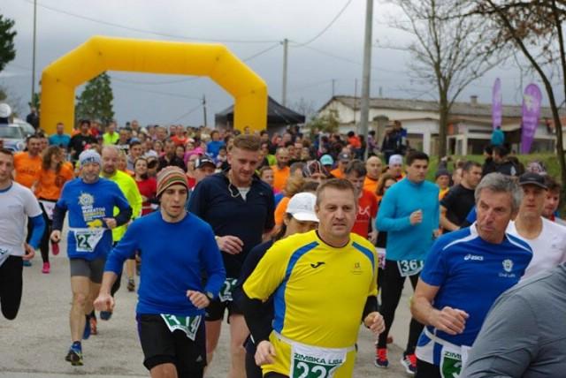 U Tupljaku održano 8. kolo Istarske zimske lige u trčanju