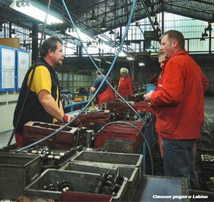 Cimosove tvornice u  Buzetu, Labinu i Roču BLOKIRANE
