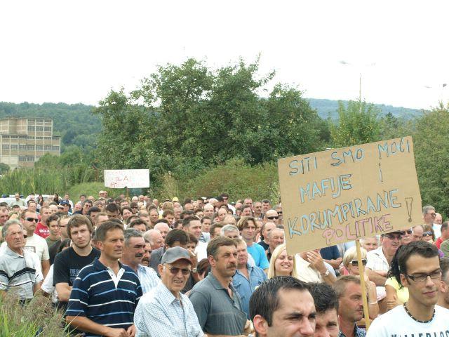 Zeleni upozoravaju da revolt građana može dovesti do nepoželjnih situacija za tvornicu i djelatnike
