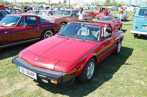 8. Međunarodno oldtimer okupljanje vozila Fiat Bertone