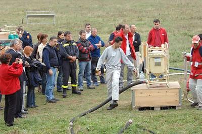 Velika međunarodna vježba Crvenog križa u dolini Raše