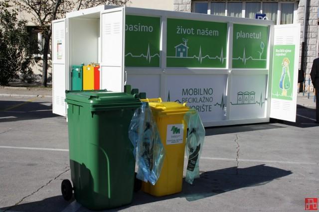 Mobilno reciklažno dvorište do kraja lipnja na 18 lokacija na području Grada Labina