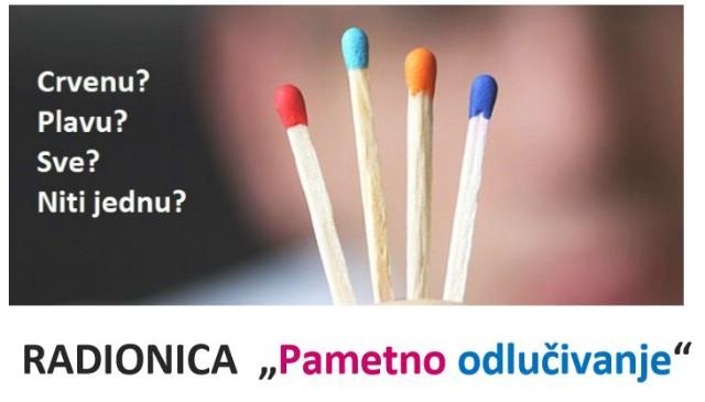 Radionica sobnog i profesionalnog razvoja `Pametno odlučivanje` 19.03.2016. u Gradskoj knjižnici Labin