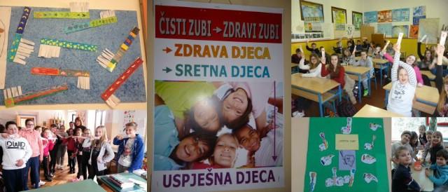 """OŠ """"Ivo Lola Ribar"""" Labin - Uoči Dana oralnog zdravlja provedeno niz aktivnosti u sklopu projekta """"Zaštita zubi"""""""