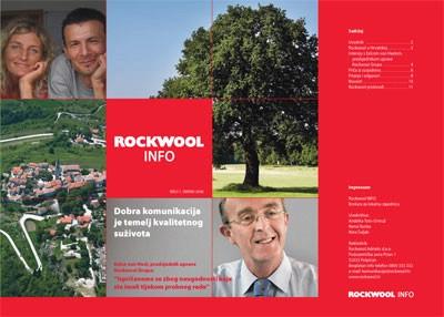 """Rockwool uređuje tvornički okoliš i izdao treće izdanje """"Rockwool info"""""""