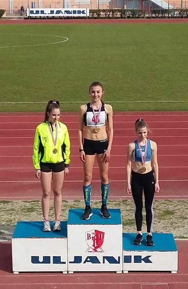 Ivana Knapić osvojila naslov prvakinje Hrvatske  u utrci na 800 m