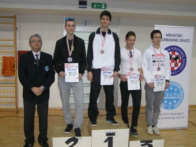 Marinu Faraguni zlato na Prvenstvu Hrvatske u pointfightingu  za seniore u Kostreni