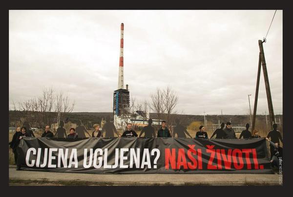 Zelena Istra u Puli i Labinu prikuplja potpise na razglednice kojima se nadležni pozivaju na odustajanje od Plomina C i uvoza ugljena