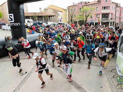 100 milja Istre - Start najveće međunarodne trail utrke u RH u Labinu 15. 04. 2016.