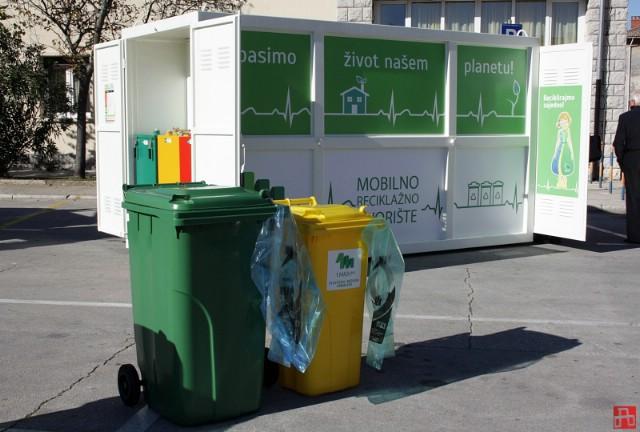 Uskoro gotovo čipiranje posuda za komunalni otpad