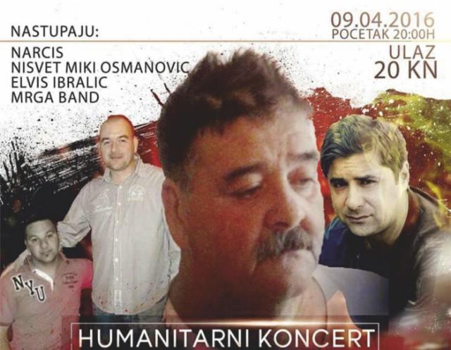 Sutra u Raši humanitarni koncert za Hasana Džinića