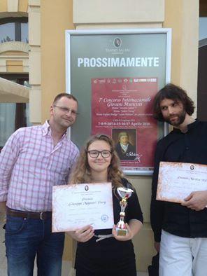 Diana Marković osvojila zlatni pehar na 7. međunarodnom natjecanju mladih glazbenika u Veroni