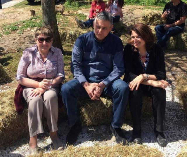Tomislav Karamarko na farmi Drijade u Šumberu