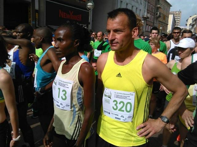 I trkači s Labinštine na riječkom polu maratonu