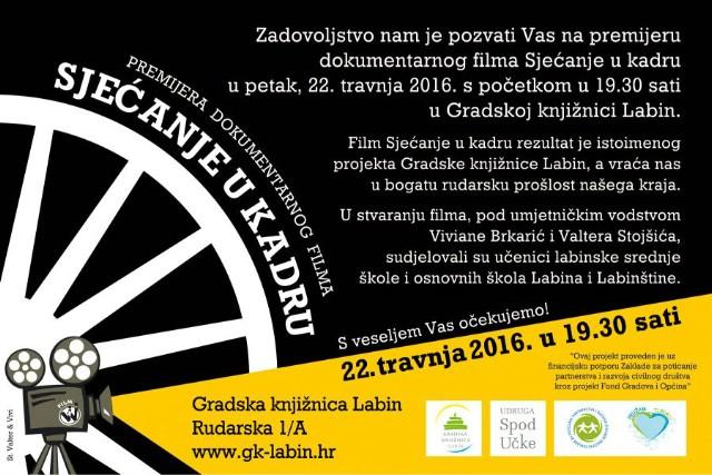 NOĆ KNJIGE 2016. U GRADSKOJ KNJIŽNICI LABIN - 22. 04. 2016.