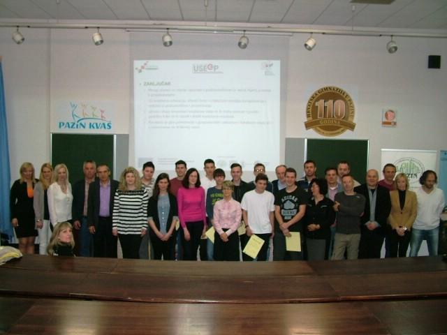 Održana završna konferencija EU projekta Unaprjeđenje sadržaja elektrotehničke grupe predmeta u Pazinu