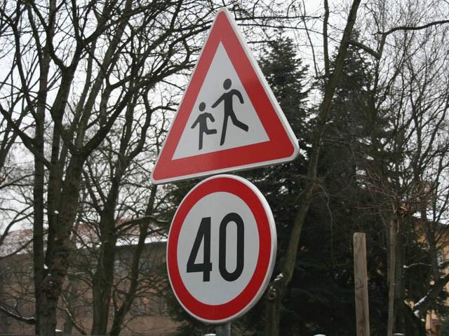 Nova prometna signalizacija u Brovinju