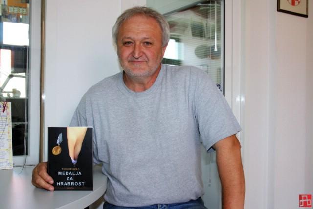 "U Dubrovi večeras predstavljanje romana ""Medalja za hrabrost"" Teodora Goba"