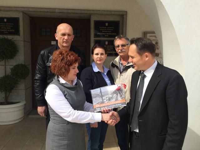 Načelnica Općine Raša primila predstavnike Holcima povodom 90 godina tvornice