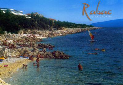 Prastara razglednica Rapca - promocijski nemar