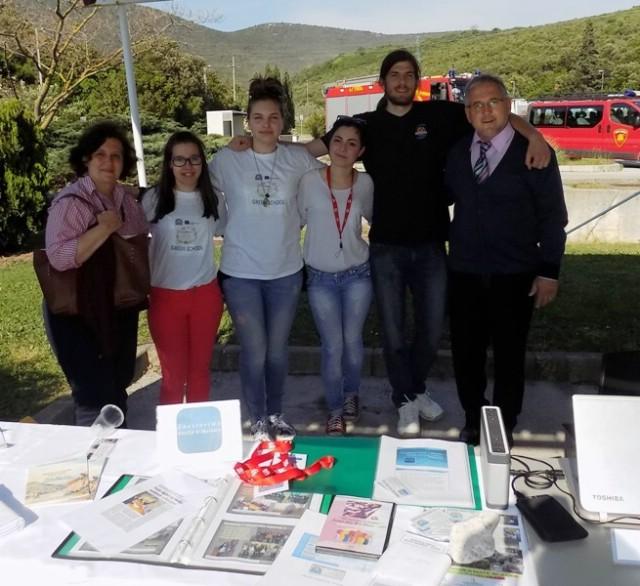 Na Danima otvorenih vrata HOLCIMA predstavljena labinska Srednja škola