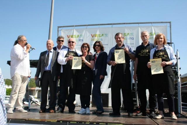 Udruženje obrtnika Labin drugi u spremanju srdela na 10. Gastro okusima Istre u Vrsaru