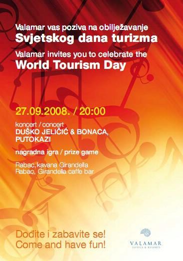 Rabac: koncert Putokaza i klape Bonaca  u povodu Svjetskog dana turizma