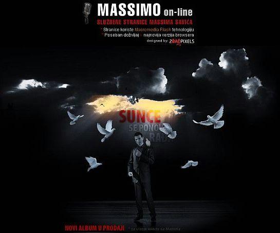Massimo: nova internet stranica uz promociju novog albuma
