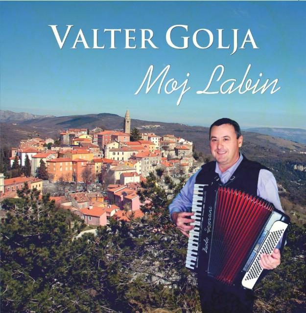 Valter Golja izdaje prvi autorski album zabavne glazbe u Labinu `Moj Labin`