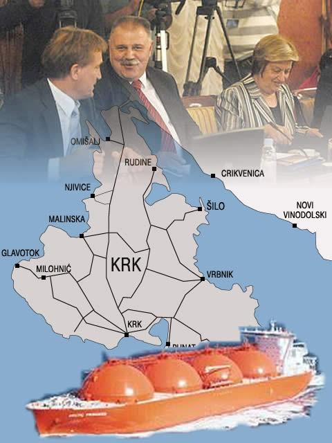 Vlada odlučila: LNG terminal na Krku